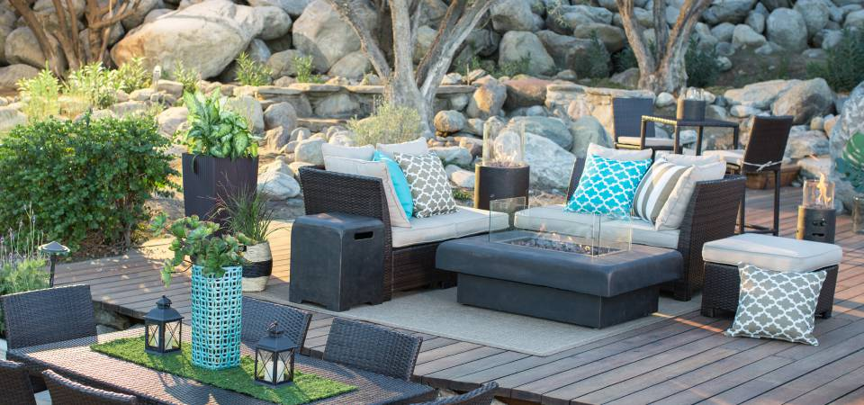 patio furniture section of our website