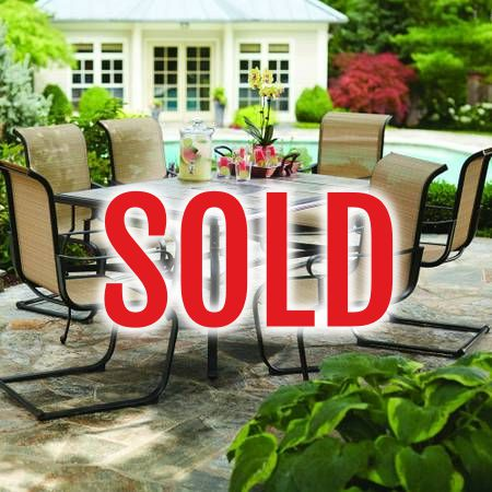 Hampton Bay Patio Dining Set SOLD