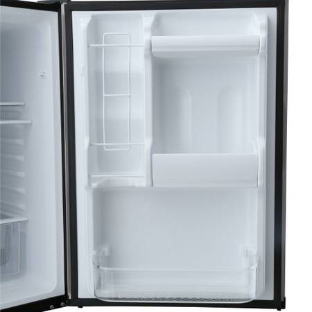 bottom freezer compact in stainless steel