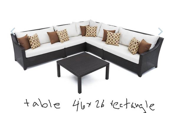 Deco Patio Furniture Set From RST